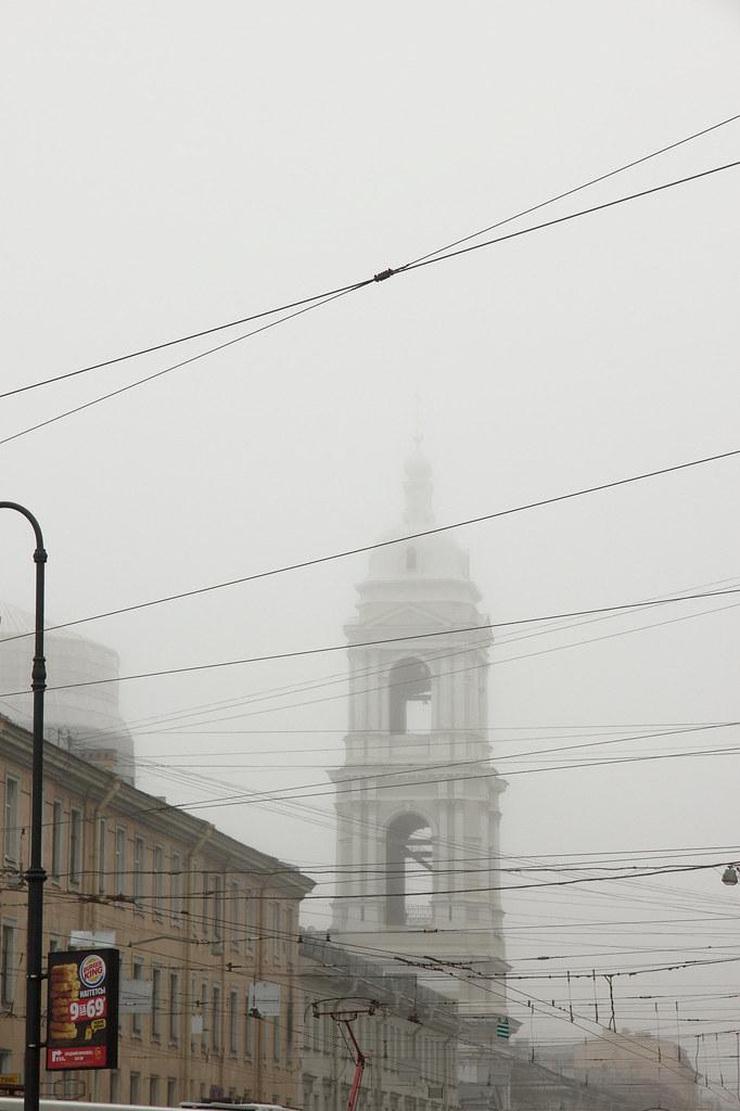 фото: Туманная колокольня