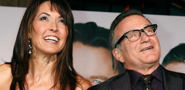 """""""Tive de lutar pelos chinelos do meu marido"""", diz viúva de Robin Williams"""