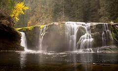 Bright Waters (fotostevia) Tags: autumn fall waterfall waterfalls rivers lewisriver giffordpinchot lowerlewisriverfalls pentaxart