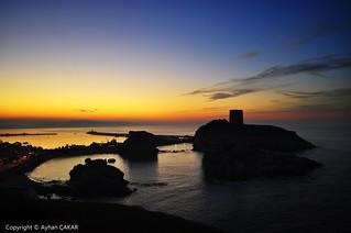 Sunset Breathtaking Şile Castle