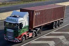 Stobart H2374 PO15 UXW Aimee Leanne A1 Washington Services 19/11/15 (CraigPatrick24) Tags: road truck washington cab transport container lorry delivery vehicle a1 trailer scania logistics stobart eddiestobart h2374 skeletaltrailer stobartgroup scaniar450 washingtonservices aimeeleanne po15uxw