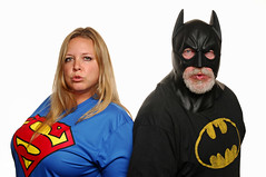 Justice League Zoolander (Studio d'Xavier) Tags: batman supergirl 365 zoolander bluesteel justiceleague werehere 310365 november62015