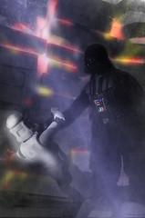 Stormtrooper vs Darth (DanielHiller) Tags: cinema storm trooper film fire starwars battle flame darth stormtrooper vader darthvader clone feuer flammen kampf