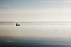 Unknown (Benny2006) Tags: sky mist lake reflection