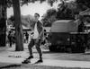 Skateboarder, Cottonwood Art Festival (1mpl) Tags: bw monochrome dallas texas richardson cottonwoodartfestival niksilverefexpro olympusomdem1