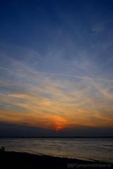 Schwedeneck Sunset (Gelegenheitsknipser) Tags: strand deutschland licht meer sonnenuntergang dmmerung sh ostsee 2009 schleswigholstein abendrot norddeutschland eckernfrderbucht grnwohld mpfotonet gelegenheitsknipserde marcopagel