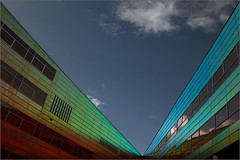 The rainbow is landed.... (hans_verduin) Tags: netherlands almere dsc1090