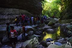 Cascata di Cusano in gruppo - Majella - Abruzzo - Italy