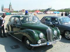 BMW 501 Polizei Streifenwagen 1956 (elbaracuda2002) Tags: auto car bike classiccar gear autoshow automotive motorbike bmw oldtimer motor polizei carshow sportscar motorad sportwagen autoausstellung barockengel isar12 bmw501 yougtimer