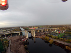 Lift Bridge Works (North Ports) Tags: new bridge november port manchester canal ship crossing lift motorway engineering atlantic civil western infrastructure gateway peel scheme trafford salford ports msc a57 2015 m60 irlam wgis