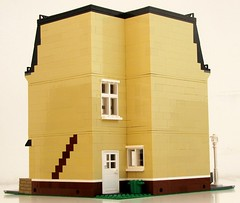 Modular Corner Neighborhood (1982redhead) Tags: architecture corner buildings design lego interior neighborhood modular tutorial brickhamster