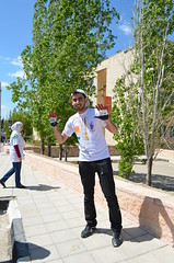 DSC_0171 (Al Ahliyya Amman University) Tags: street flowers students colors painting colorful university pretty time weekend president amman happiness jo jordan characters aau joyful       ccbysa  ahliyya          balqa      alsaro