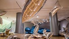 2015: The year in photos (Loyola University Chicago) Tags: art museum gallery anniversary buddha exhibit andywarhol wtc tenyears luma greatesthits silverclouds lewisdesoto paranirvana umc1555