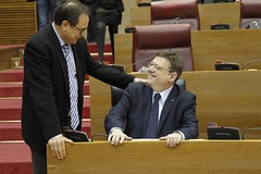 Puig valora en Les Corts la jornada electoral del 20 de diciembre (Presidncia Generalitat) Tags: elecciones 2016 corts presidentdelageneralitat ximopuig cortsvalencianes