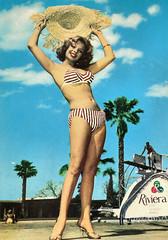 On the Riviera (Truus, Bob & Jan too!) Tags: pinup bikini girl woman sweet sexy beachwear swimwear bathingsuit maillot vintage postcard carte postale cartolina postkarte tarjet postal postkaart briefkarte briefkaart ansichtkarte ansichtkaart swimming summer swimsuit beach rotalfoto