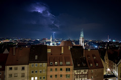 thunderstorm in Nuernberg ((:Andrzej:)) Tags: summerstorm thunderstorm nuernberg