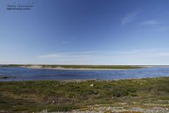 Arctic landscape (Blue Tale) Tags: arctic landscape north tundra water sky blue clouds rocks polar nunavut canada canoneos7d grass