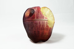 Death StApple (si_glogiewicz) Tags: death star apple wars force dark side sci fi scifi fantasy photoshop