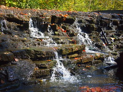 20161024SharonWoods-006 (gglassmeyer) Tags: autumn fall sharonwoods waterfall