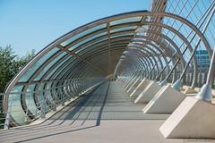 The Vanishing Point (Jannik K) Tags: zaragoza aragn spanien spain architecture saragossa zaragossa samsung nx1 summer light colours colors lichter licht farben fluchtpunkt vanishing point frame it