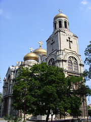 Varna, Bulgaria - Dormition of the Mother of God Cathedral (johnnysenough) Tags: varna bugaria dormitionofthemotherofgodcathedral  blgarija bulgarie bulgarien centraleurope tourist travel 100citiesx1trip snv37032