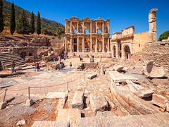 Library of Celsus at the Ancient City of Ephesus, Selçuk, Turkey (CamelKW) Tags: turkey2016 libraryofcelsus ancientcity ephesus selçuk turkey