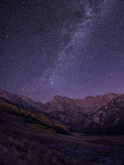 Milky Way Over the Gore Range (Aaron Spong Fine Art) Tags: milky way galaxy over gore range colorado co stars starry night peak c eagle eagles nest wilderness vail piney lake river valley moutain mountains peaks autumn fall image photography photograph photographs