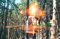 (Antony Bou) Tags: antonybou antony bou art kodak nikon film leica light wood girl doubleexposure