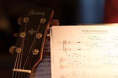 Musik (janakintrup) Tags: instrument musik musical orchester band noten gitarre ibanez canon
