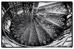 Stairway  Noir (nullart) Tags: wendeltreppe stairway lbau oberlausitz blackandwhite schwarzweis