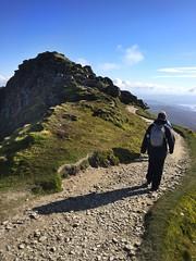 The descent starts (barronr) Tags: scotland lochlomondthetrossachsnationalpark benlomond theptarmigan