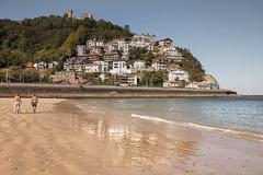 Monte Igueldo (PhotoSebastian) Tags: san sebastin espaa beach playa costa landscape mount travel destination holidays sun sunny lifestyle canon