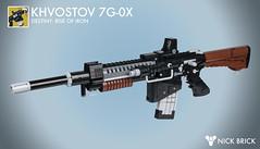 Khvostov 7G-0X - Destiny: Rise of Iron (Nick Brick) Tags: lego destiny rise iron riseofiron khvostov khvostov7g0x exotic auto rifle gun prop replica old russia siva nickbrick ghost