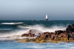Sakonnet Light (mikeyatswb) Tags: littlecompton rhodeisland unitedstates us lighthouse newengland singhrayfilters lbcolorcombo sakonnetlight seascape seaweed leefilters