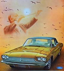 1966 Ford Thunderbird Ad (Christian Montone) Tags: ads advertising vintageads adverts vintage print printads