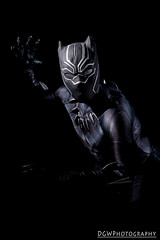 Black Panther (dgwphotography) Tags: nycc nycc2016 newyorkcomiccon cosplay nikond600 nikoncls marvel marvelcomics