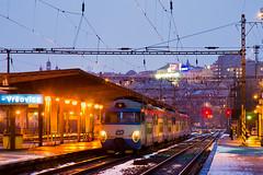 451.059-0 D, Os 2555, Praha-Vrovice (cz.fabijan) Tags: railway eleznice train vlak d eskdrhy 451 451059 os2555 praha vrovice