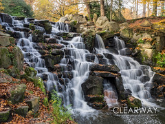 The Cascade at Virginia Water (Clearway Photography) Tags: waterfall landscape virginiawater water lake surrey autumn trees