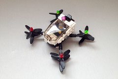 EHANG 184 (in flight) ([thatjuan]) Tags: ehang 184 vtol personal air vehicle lego taxi