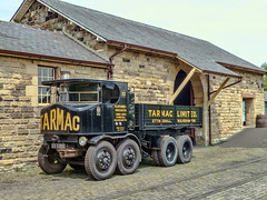 Lorry #1 - Beamish (brianaw2010) Tags: beamish museum county durham road vehicles lorries trucks sentinel dg 8