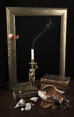 smoke (ITimV) Tags: stilllife smoke candle broken vase nikon d810a nyip