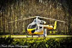 Essex Air Ambulance (ScopiePhotography) Tags: helicopter transportation ambulance essex air aviation hdr photomatix yellow summertime