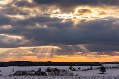 Tadaaa ... ! (thunderbird-72) Tags: france winter januar sundown nikond7100 lorraine january frankreich lothringen hiver coucherdusoleil schnee janvier snow sonnenuntergang abend neige waldwisse alsacechampagneardennelorrain alsacechampagneardennelorraine fr
