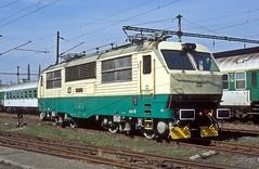 150 023  Presov  03.04 05 (w. + h. brutzer) Tags: presov eisenbahn eisenbahnen train railway elok tschechien webru analog nikon 150 slowakei zug cd zsr