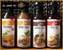 Product Review of Little Saigon Sauces (Suzie the Foodie www.suziethefoodie.com) Tags: dragonsden littlesaigon sauces productreview suziethefoodie