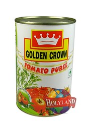 Tomato Puree 425 gm (holylandgroup) Tags: canned fruit vegetable cannedfruit cannedvegetable nonveg jalapeno gherkins soups olives capers paneer cream pulps purees sweets juice readytoeat toothpicks aluminium pasta noodles macroni saladoil beverages nuts dryfruit syrups condiments herbs seasoning jams honey vinegars sauces ketchup spices ingredients