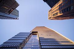 (themodulorman) Tags: kpf hudsonyards 10hudsonyards 10hy towerc curtainwall glass skyscraper architecture building construction newyorkcity newyork nyc manhattan westsiderailyards enclos interpane highline dusk magichour work