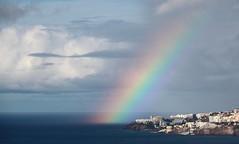 Somewhere over the Rainbow (Behappyaveiro) Tags: ilhadamadeira funchal portugal madeiraisland oceanoatlntico atlanticocean rainbow arcoris islandofmadeira