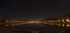 Night shooting (tonyandonova) Tags: panorama nikon bulgaria plovdiv canal water lights night photography