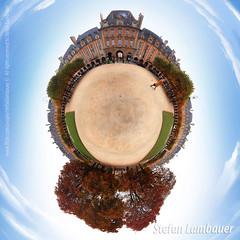Place des Vosges 360º (Stefan Lambauer) Tags: paris 360º estereographic photo iphone placedesvosges marais amaisonvictorhugo hoteldesully france place square praça stefanlambauer 2015 europa fr